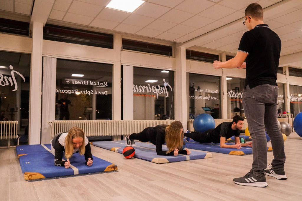 Persoonlijke begeleiding medische fitness bergen op zoom